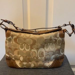 "Coach ""Signature C"" Handbag"